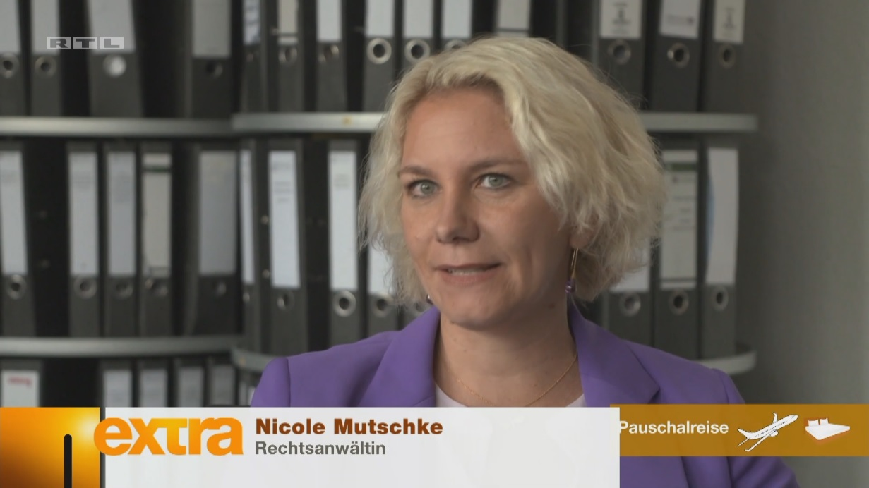 Kanzlei Nicole Mutschke Experte Reiserecht tui lmx fti eti center parcs rtl