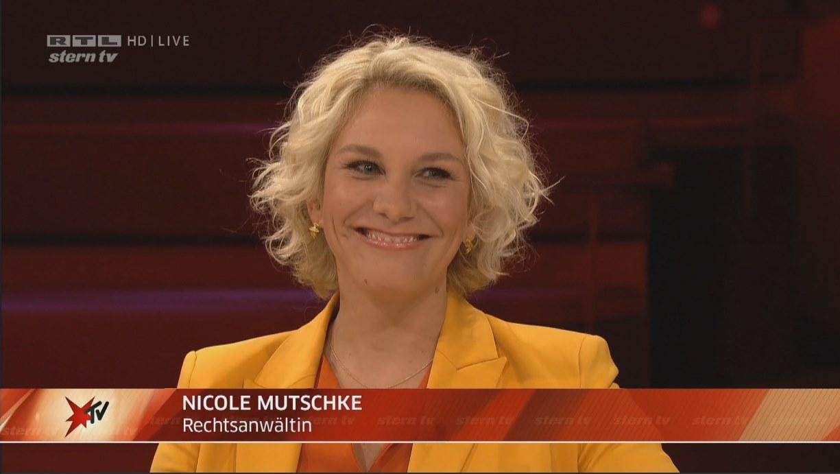 Nicole Mutschke Kanzlei Experte Anwalt TV rtl corona sterntv