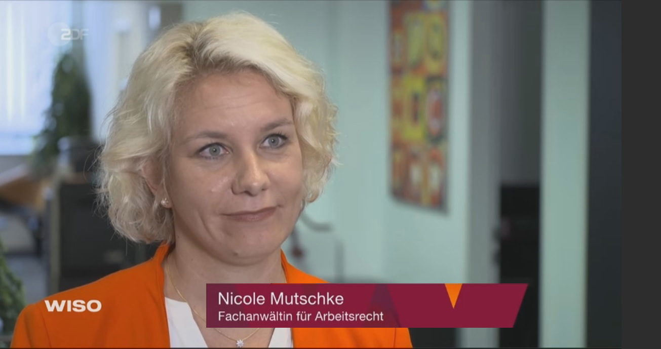 Kanzlei Nicole Mutschke Experte Reiserecht tui lmx fti eti center parcs zdf wiso