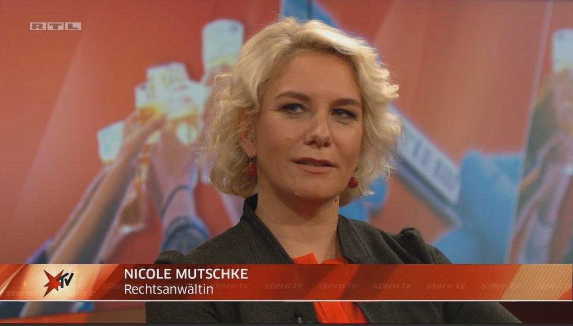 Nicole Mutschke Kanzlei Experte Anwalt TV rtl sterntv corona