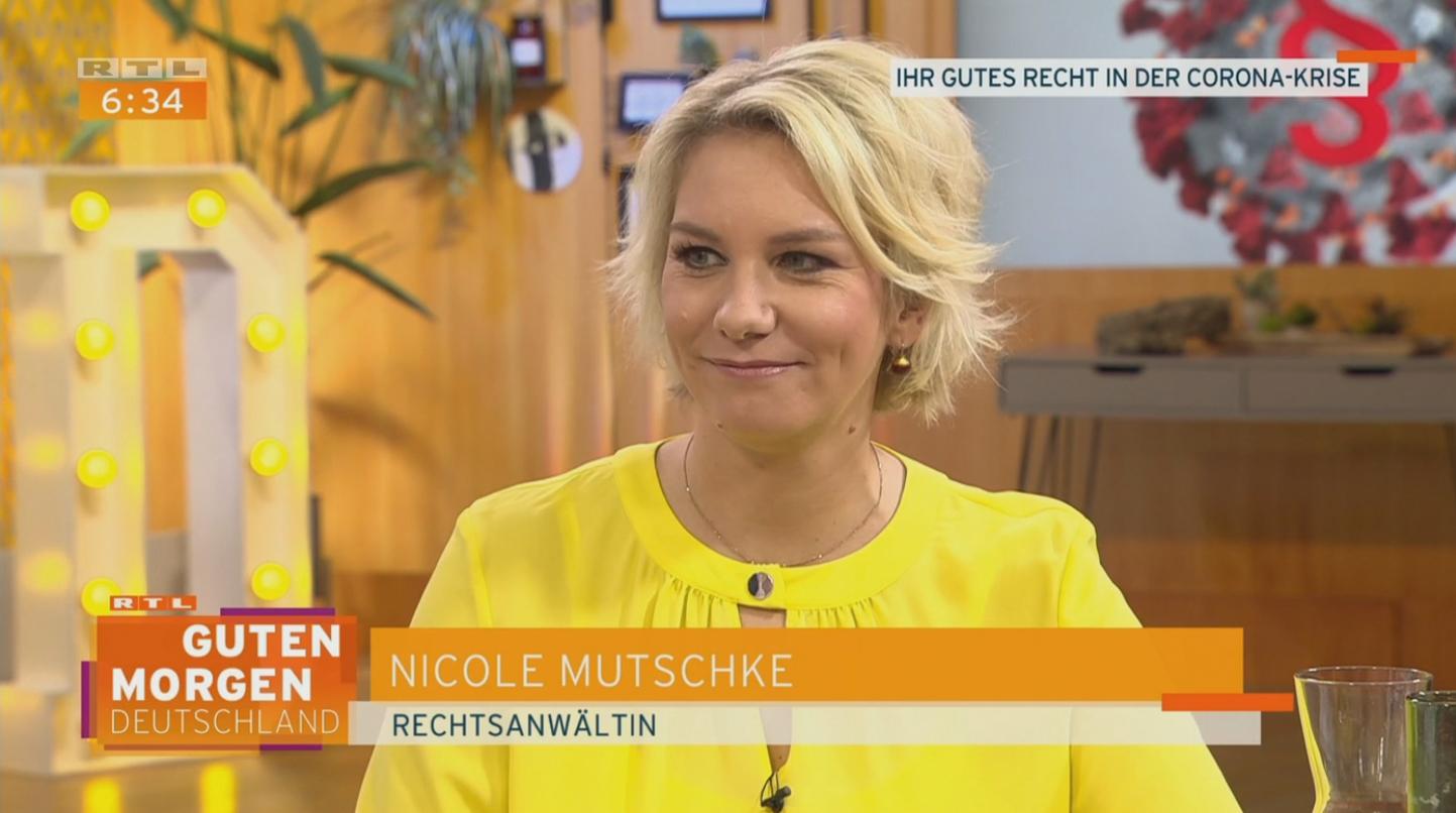 Nicole Mutschke Coronavirus Coronakrise rtl tv experte